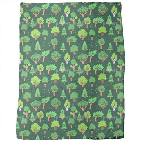 Magical Forest Blankets