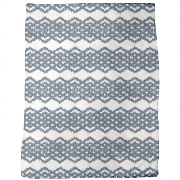 Ikat Diamond Bordures Blankets