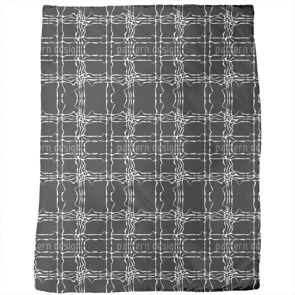 Jagged Check Blankets