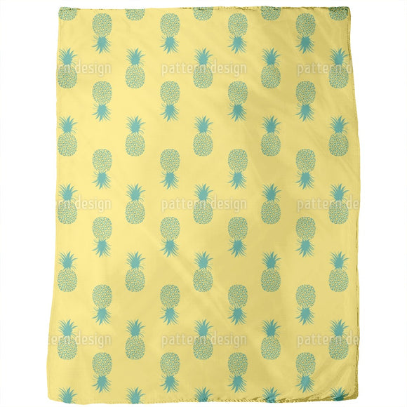 Sunkissed Pineapples Blankets