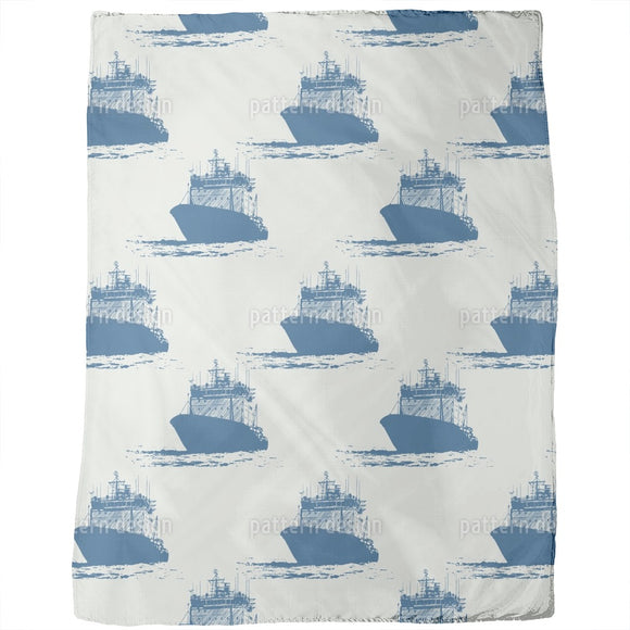 Cast Off Nautical Blankets