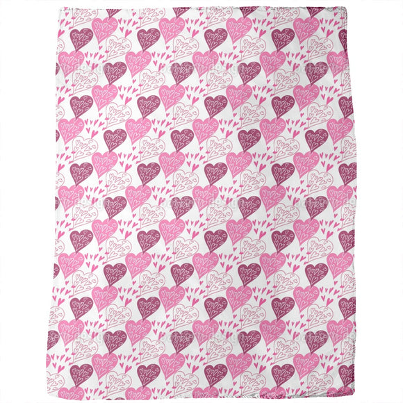 Expression Of Love Blankets