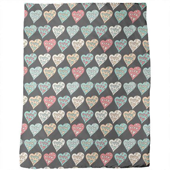 Choice Of Hearts Blankets