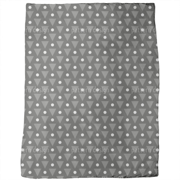 Dots and Triangles Blankets