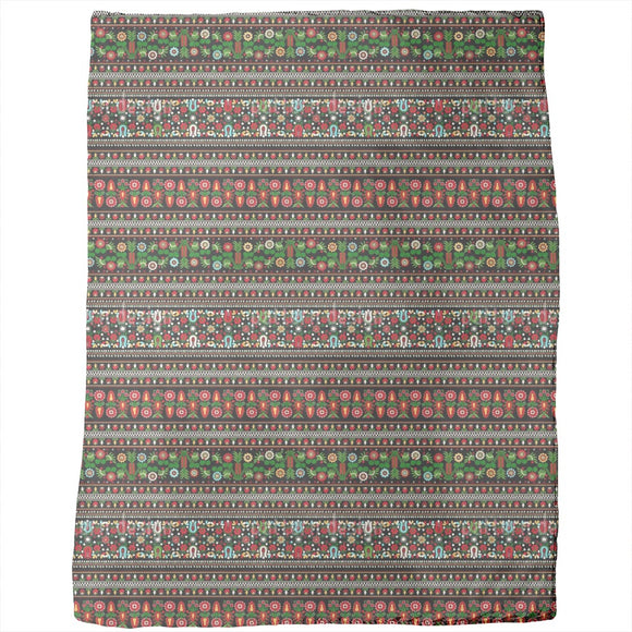Hungarian Folk Embroidery Blankets