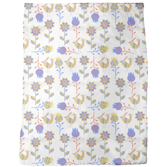 East Bird Meadow Blankets