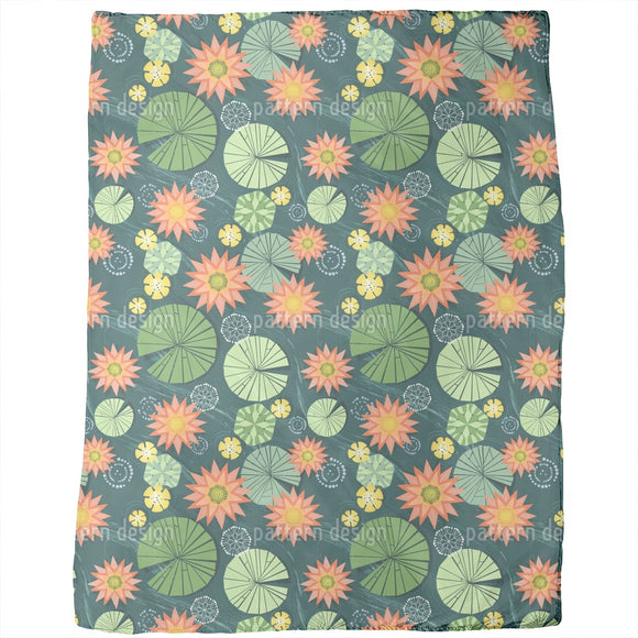 Lily Pad Pond Blankets