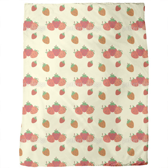 Strawberry Fields Blankets