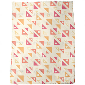 Angled Triangles Blankets