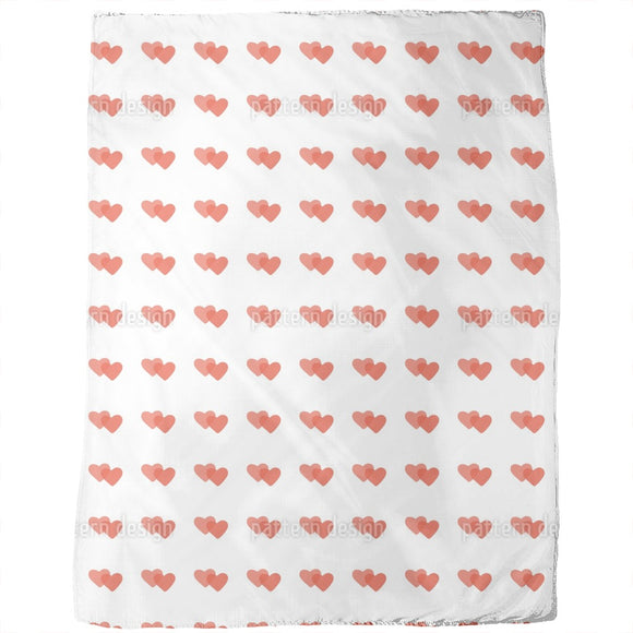 Melted Hearts Blankets