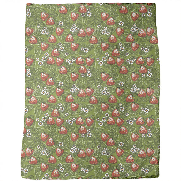 Strawberry Picking Blankets