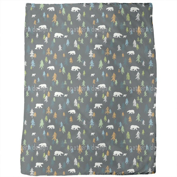 Bears In The Forest Blankets