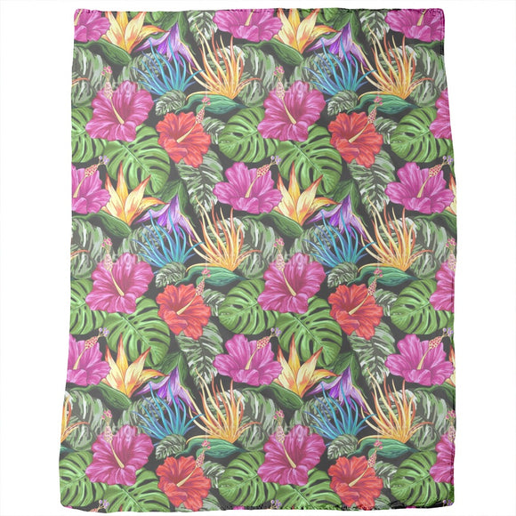 Tropical Flora Summer Mood Blankets