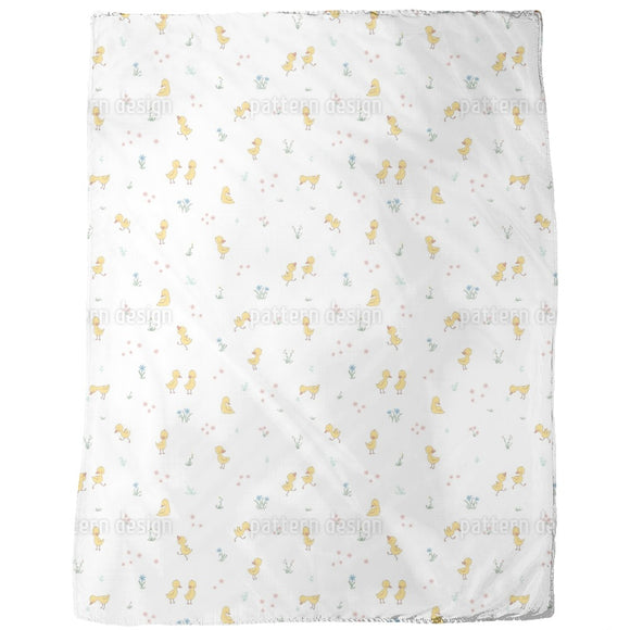 Cute Ducklings Blankets