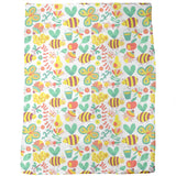 Busy Honey Bees Blankets