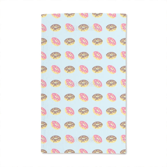 Box Of Donuts Hand Towel