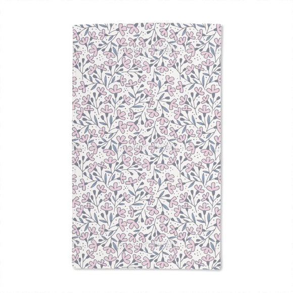 Floral Wind Hand Towel
