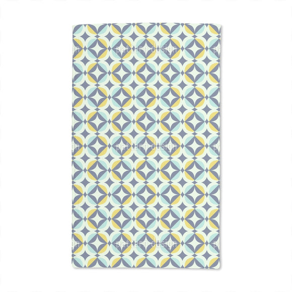 Scandinavian Retro Hand Towel