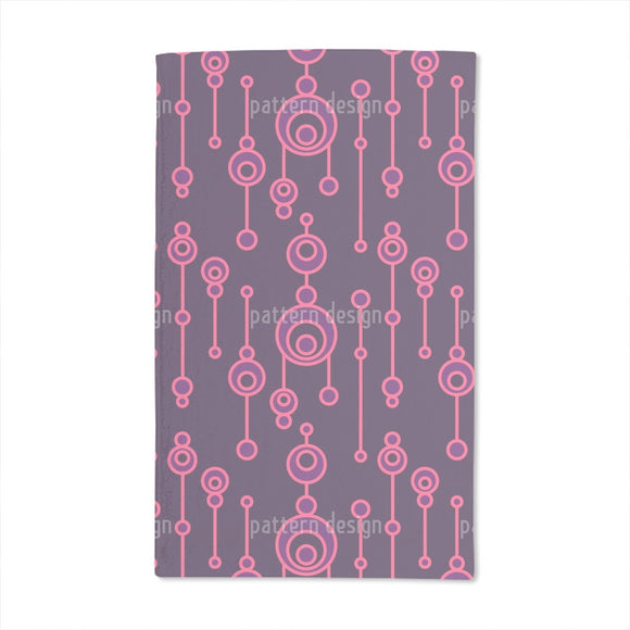 Glowing Talisman Hand Towel