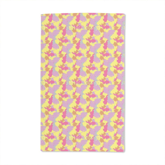 Clown Camouflage Hand Towel
