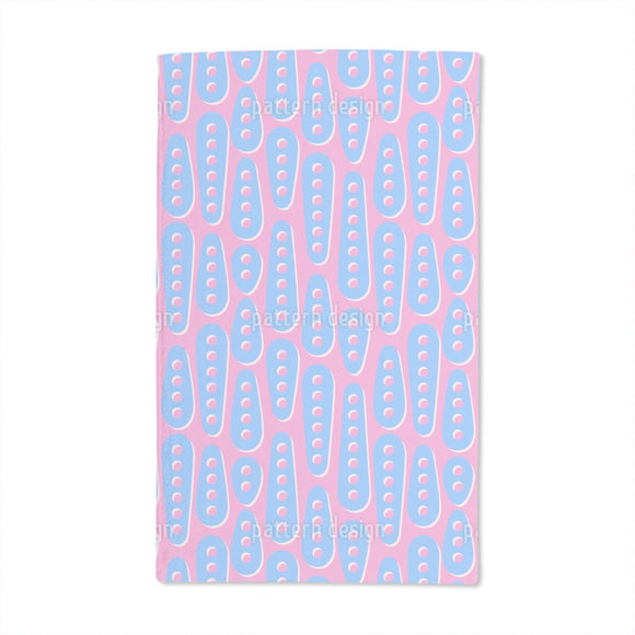 Perforated Shapes Hand Towel