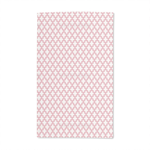 Lattice Geometry Hand Towel