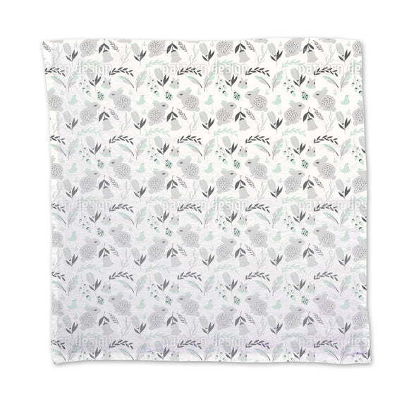 Bunnies and Flowers Napkins