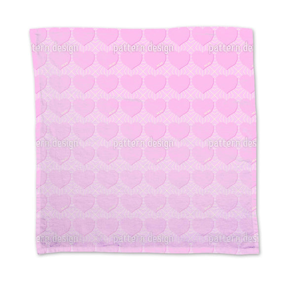 Angular Hearts Napkins