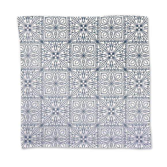 Abstract Floral Tiles Napkins