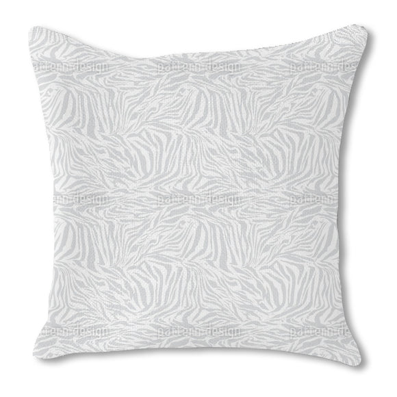Zebra Monochrome Outdoor Pillows