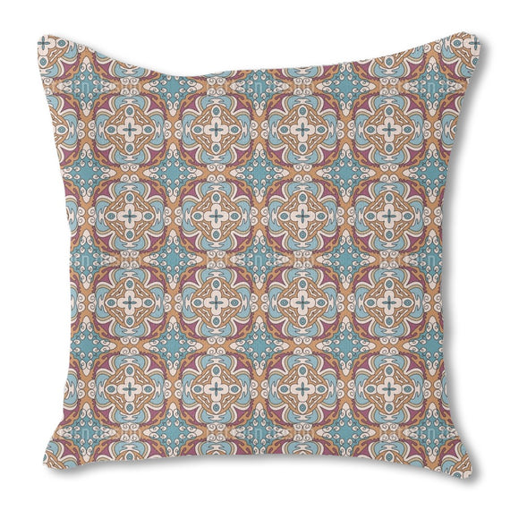 Floral Comic Nostalgia Outdoor Pillows