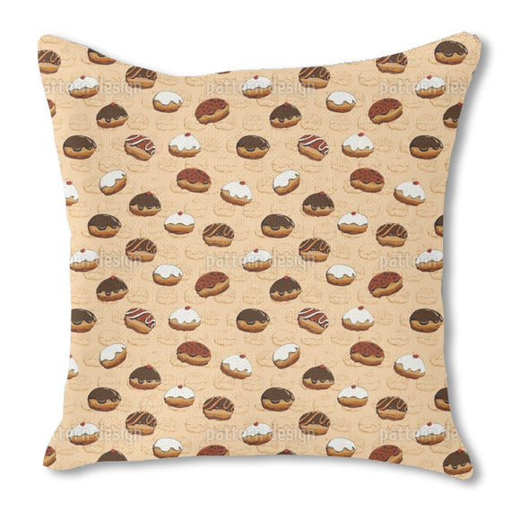 Sweet Donuts Outdoor Pillows