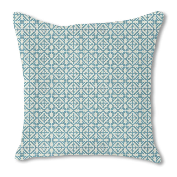 Moorish Tiles Outdoor Pillows