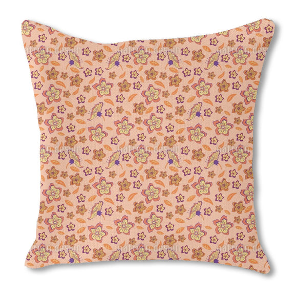 Tropical Flower Power Outdoor Pillows