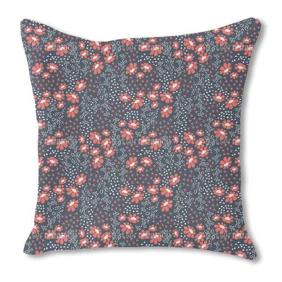 Japanese Summer Night Outdoor Pillows