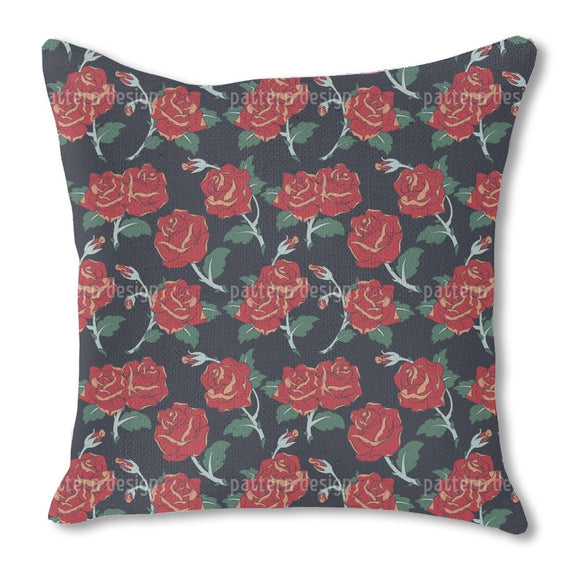 Classic Roses Outdoor Pillows