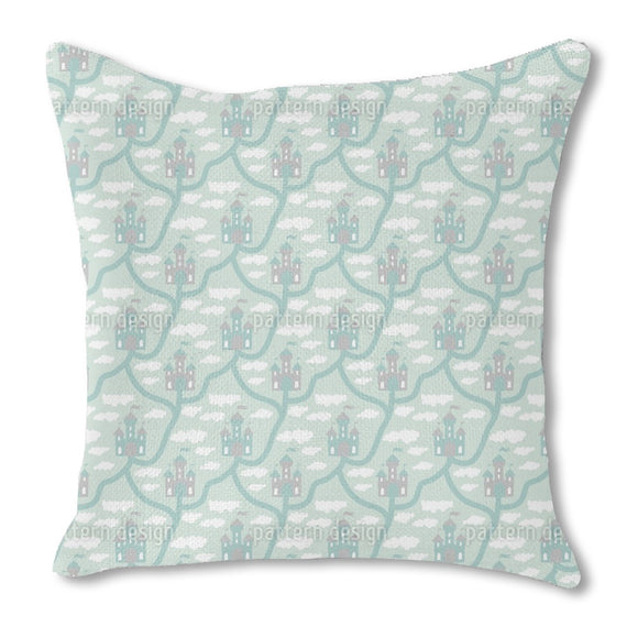 Castle In The Clouds Outdoor Pillows