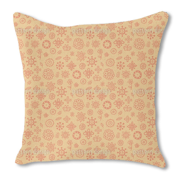 Summer Scrapbook Outdoor Pillows