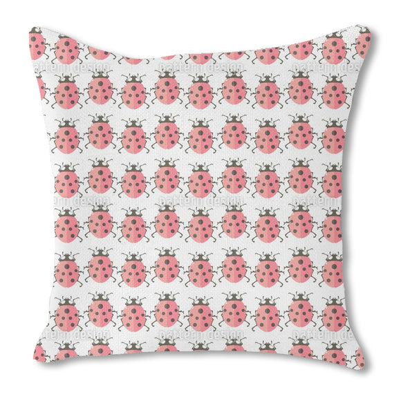 Cute Ladybugs Outdoor Pillows