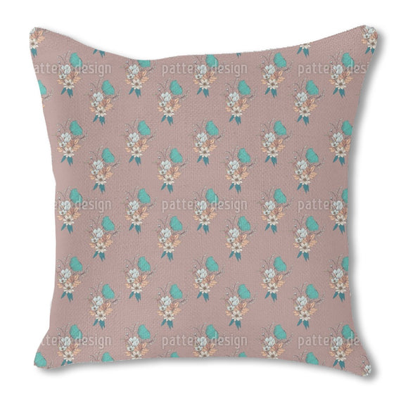 Merry Bouquet Outdoor Pillows