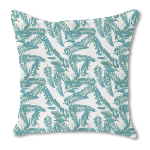 Clean Leaves Outdoor Pillows