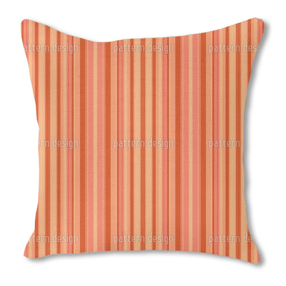 Sunset Stripes Outdoor Pillows