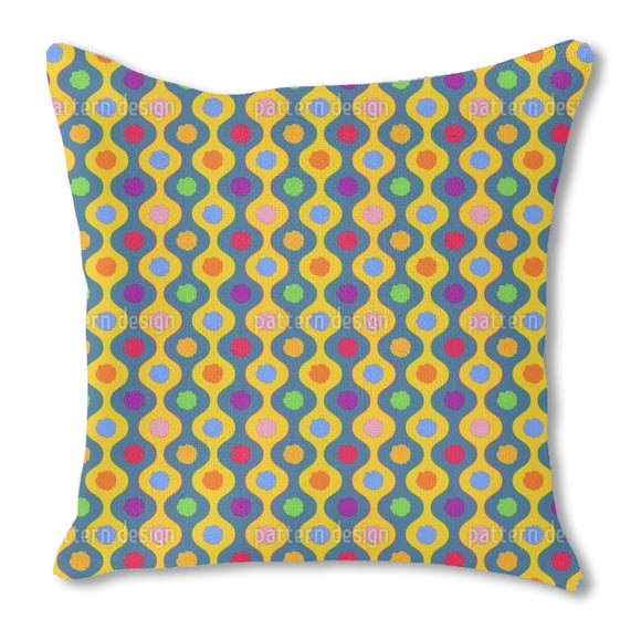 Cheerful Bright Stripes Outdoor Pillows