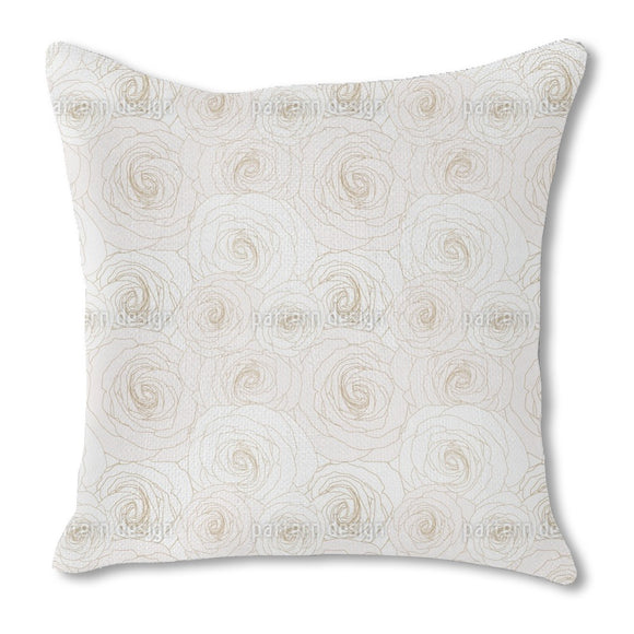 Makro Roses Outdoor Pillows