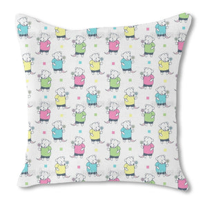Candy Mice Outdoor Pillows