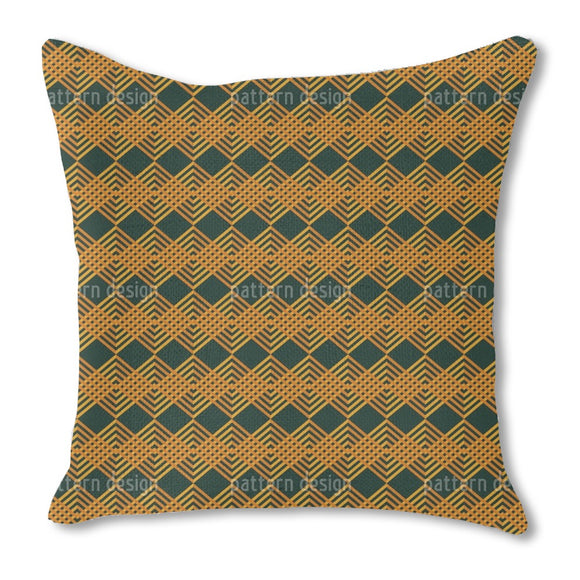 Woven Ribbons Outdoor Pillows