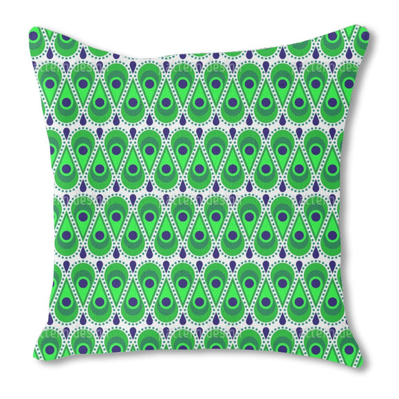 Drops Bordure Outdoor Pillows