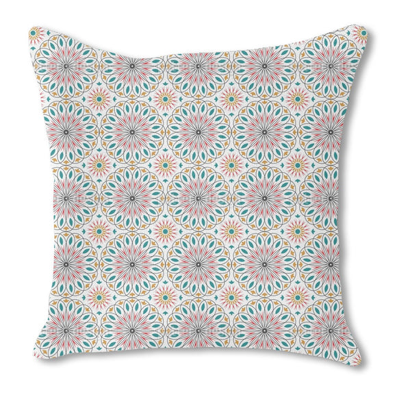 Opulent Circles Outdoor Pillows