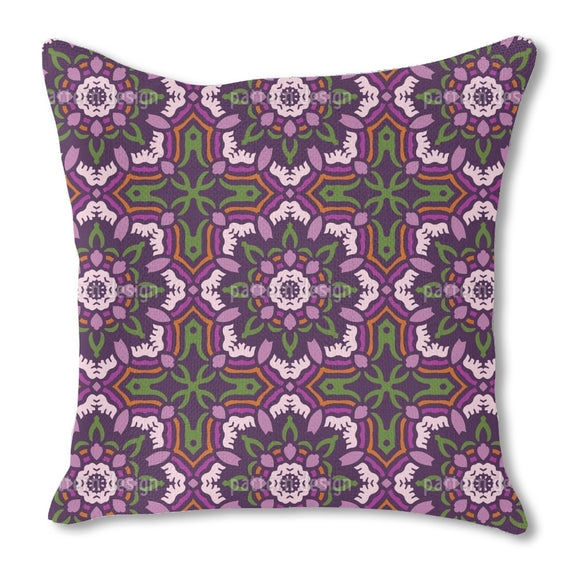 Rosette Dance Outdoor Pillows
