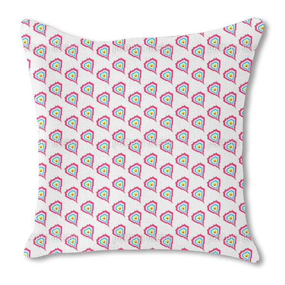 Hearts On Fire Outdoor Pillows